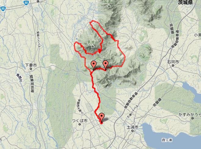 筑波 山 コース