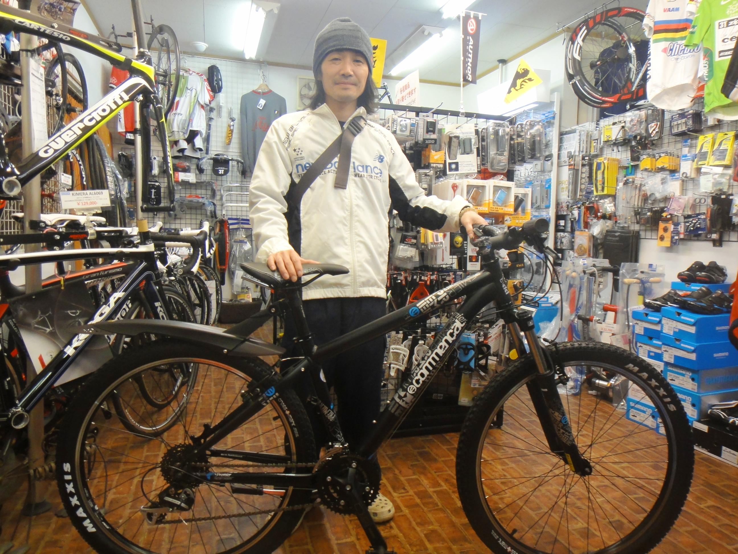 自転車の 自転車 tt トレーニング : ロード乗りさんの通勤用MTB ...