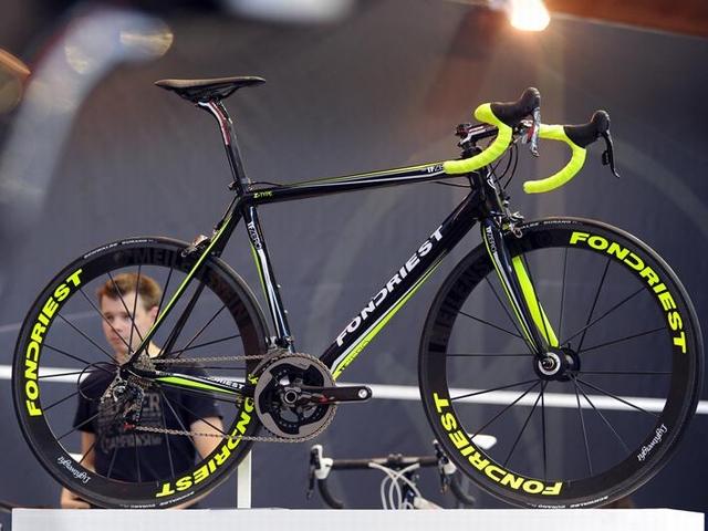 自転車の 自転車 コンポーネントとは : FONDRIEST TF0 フレームセット 税別 ...