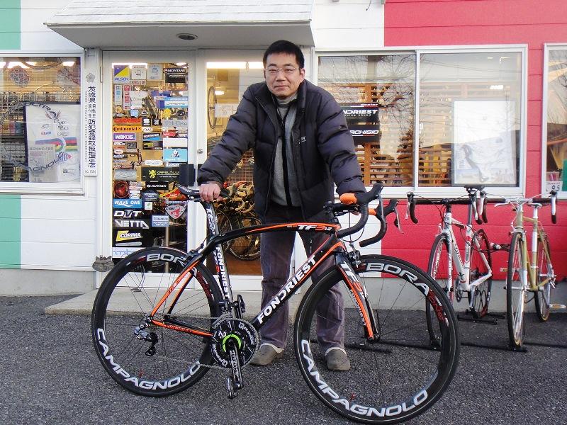 自転車の 自転車 tt トレーニング : のご納車 – つくばの自転車 ...
